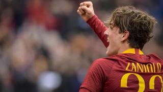 Nicolò Zaniolo, 19 anni, sta conquistando la Roma. Lapresse
