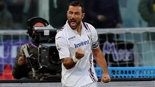 Fabio Quagliarella, 35 anni, attaccante della Sampdoria. Getty