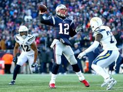 Tom Brady, 41 anni, insegue il nono Super Bowl AFP