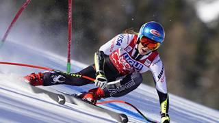 Mikaela Shiffrin, 23 anni, 54° successo in carriera. GETTY