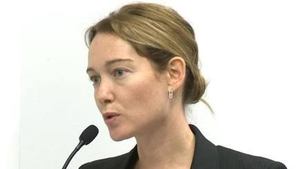 Cristiana Capotondi, vicepresidente della Lega Pro. Sconosciuta