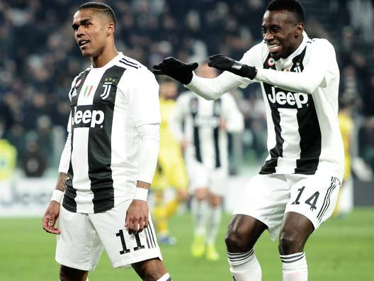D. Costa e Matuidi festeggiano l'1-0. Getty