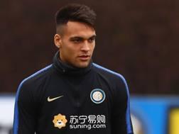 Lautaro Martinez, 21 anni, attaccante argentino dell'Inter. Getty