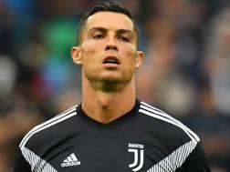Cristiano Ronaldo, attaccante della Juventus. Getty