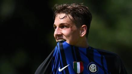 Nicolò Zaniolo, 19 anni, lo scorso anno con la Primavera dell'Inter. GETTY
