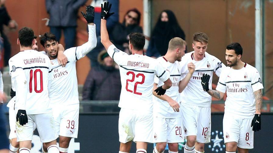 Borini+Suso: Genoa steso Il Milan si prende il 4° posto
