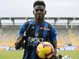 Duvan Zapata, 27 anni, attaccante dell'Atalanta. Ansa