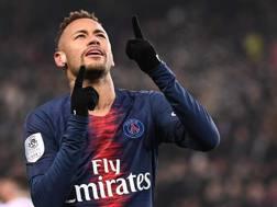 Neymar, attaccante del Paris Saint-Germain. AFP
