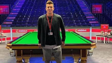 Stephan El Shaarawy, 26 anni, a Londra per i Master 16 di snooker