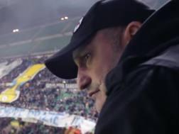 Nino Ciccarelli, 49 anni, capo dei Viking della curva dell'Inter. Ansa