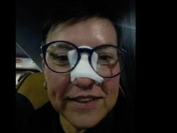 Elena Di Martino, la tifosa colpita dalla pallonata di CR7. Facebook