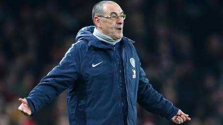 Maurizio Sarri, manager del Chelsea. Getty