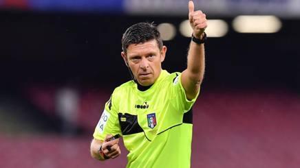 L'arbitro Gianluca Rocchi, 45 anni. Lapresse