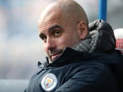 Pep Guardiola, manager del Manchester City. Epa
