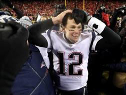 Tom Brady, 41 anni Afp