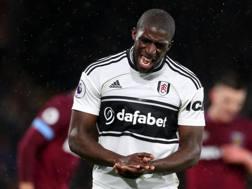 Aboubakar Kamara, attaccante del Fulham. GETTY