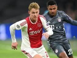Frenkie De Jong, centrocampista dell'Ajax. Afp