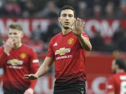 Matteo Darmian, difensore del Manchester United, 29 anni. AP