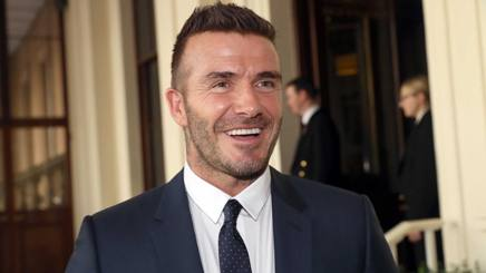 David Beckham. Getty