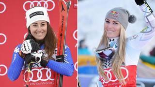 Sofia Goggia e Lindsey Vonn
