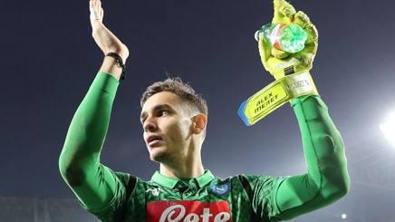 Alex Meret, 21 anni, portiere del Napoli. Getty