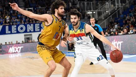 Michele Vitali (destra) contro il fratello Luca Ciamillo