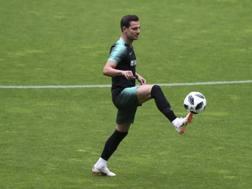 Cedric con la maglia del Portogallo. Ap