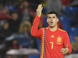 Alvaro Morata, 26 anni. AFP