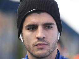 Alvaro Morata, 26 anni. EPA