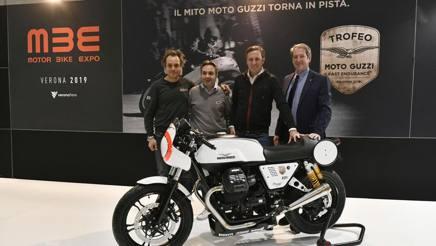 La presentazione del Trofeo Moto Guzzi