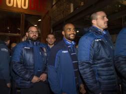 Gli azzurri hanno iniziato il raduno al pub. Fama