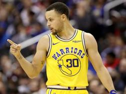 Steph Curry, 30 anni, tre anelli vinti in carriera. Afp