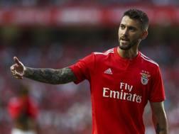Facundo Ferreyra, 28 anni, attaccante argentino del Benfica. GETTY