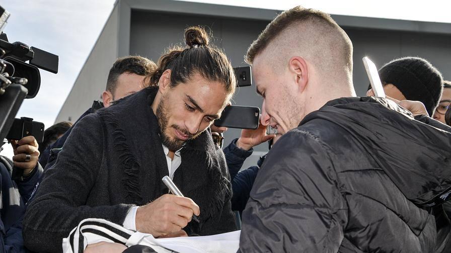 """Juve, Caceres: """"La maglia bianconera mi ha preso il cuore"""""""