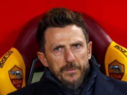 Eusebio Di Francesco, allenatore della Roma, 49 anni. ANSA