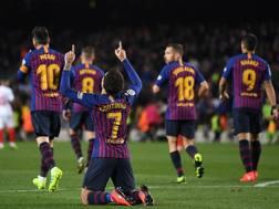 Barça travolgente: manita al Siviglia in Coppa del Re