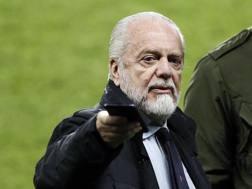 Aurelio De Laurentiis, presidente del Napoli, 69 anni. EPA