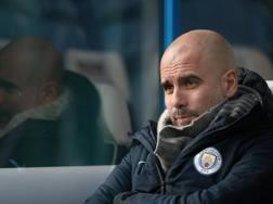 Pep Guardiola, allenatore del Manchester City. Epa