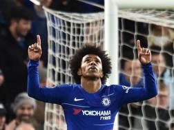 Willian, centrocampista del Chelsea, 30 anni. AFP