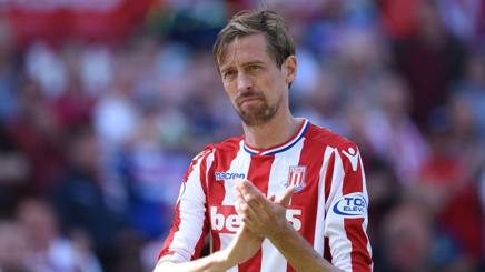 Peter Crouch. Afp