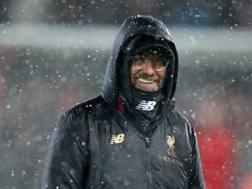 Jurgen Klopp, allenatore del Liverpool, 51 anni GETTY