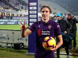 Federico Chiesa, attaccante della Fiorentina, 21 anni. GETTY