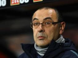 Maurizio Sarri, allenatore del Chelsea, 60 anni. GETTY