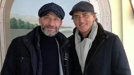 Gianluca Vialli, 54 anni, e Roberto Mancini, 54. Instagram