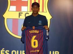 Jean-Clair Todibo. Sito ufficiale Barcellona