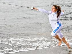 Mara Navarria, 33 anni, campionessa del mondo in carica di spada