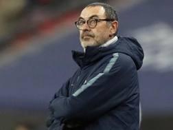 Maurizio Sarri, 60 anni, allenatore del Chelsea. Ap