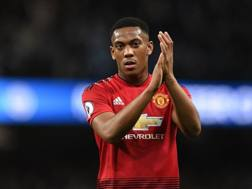 Anthony Martial . afp