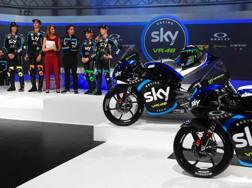 La presentazione del Team Sky VR46
