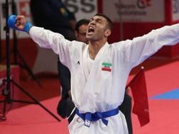 Zabiollah Poorshab, capitano della Nazionale Iraniana di karate